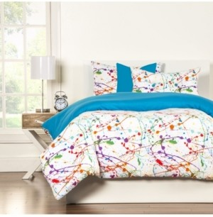 Crayola Splat 6 Piece Queen Luxury Duvet Set Bedding