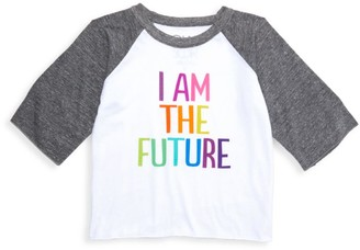 Chaser Girl's My Future Slogan Jersey Top