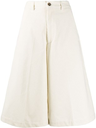 Societe Anonyme Wide-Leg Cropped Trousers