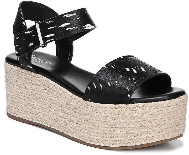 a3cdce92aec Ben Espadrille Platform Sandal -Black/White - Women's