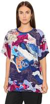 Maison Margiela Oversized Laundry Printed Twill Top