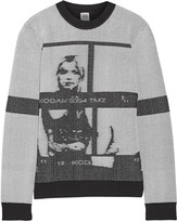 Opening Ceremony Intarsia-knit sweater