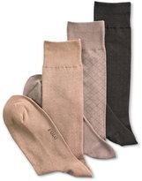 Polo Ralph Lauren 3 Pack Patterned Dress Men's Socks