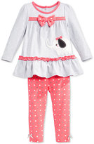 Nannette Baby Girls' 2-Pc. Elephant Tunic & Leggings Set