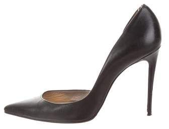Christian Louboutin Leather d'Orsay Pumps