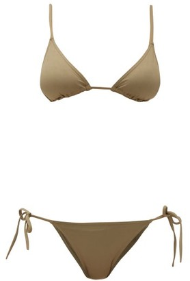 Eres Mouna And Malou Triangle Bikini - Womens - Khaki