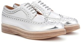 Church's Opal leather platform brogues