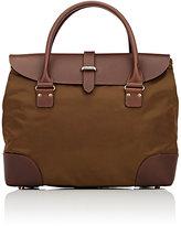 Felisi Men's Flap Briefcase-BROWN