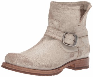 Frye Women's Veronica Bootie Ankle Boot off white 6.5 M US