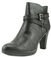 Rialto Pamela Women Round Toe Synthetic Black Ankle Boot.