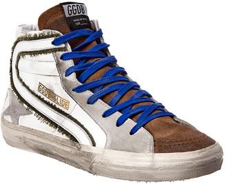 Golden Goose Slide Suede & Leather Sneaker