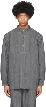 Snow Peak Grey Long Shijira Shirt