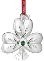 Waterford Silver 2017 Shamrock Ornament