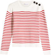 RED Valentino Sailor Stripe Cotton Pullover