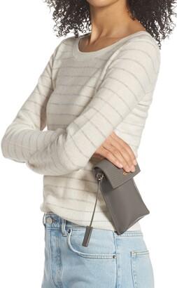 Mali & Lili Brooke Vegan Leather Tech Crossbody Bag