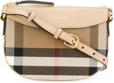 Burberry checked shoulder bag - kids - Cotton/Leather - One Size