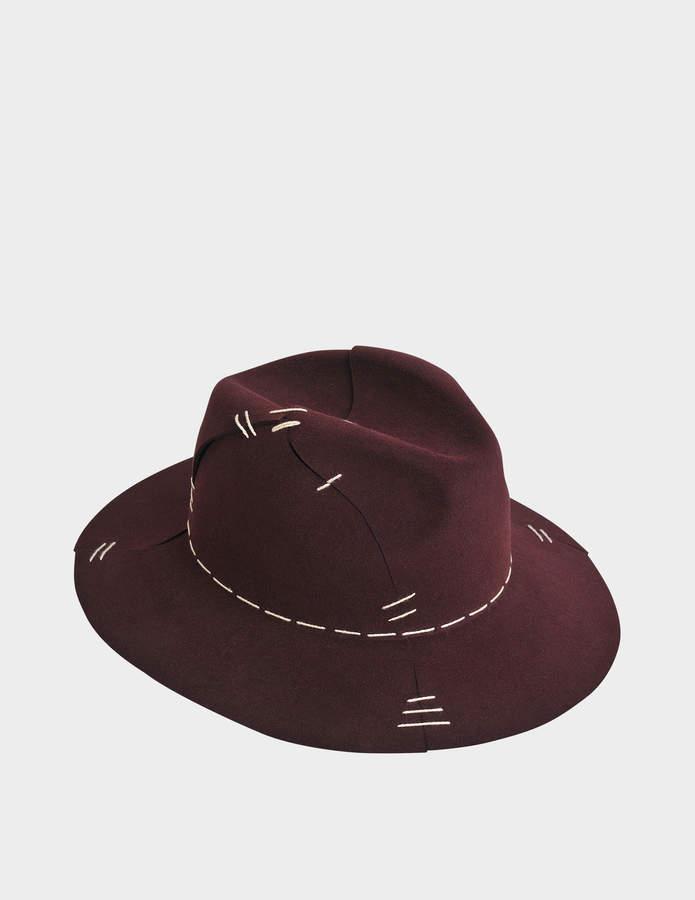 Maison Michel Henrietta Interlock felt hat