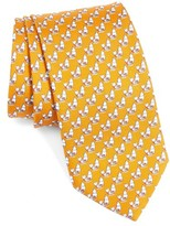 Salvatore Ferragamo Men's Windsurfing Bear Silk Tie