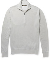 Loro Piana - Roadster Cashmere Half-zip Sweater