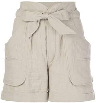 Etoile Isabel Marant Belize tie waist shorts