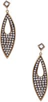 Ila Women's Esperanza 18K Gold & 0.85 Total Ct. Diamond Drop Earrings