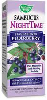 Nature's Way Sambucus Nighttime Immune Syrup by 4oz Liquid)