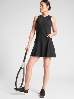 Athleta Match Point Dress In Supersonic