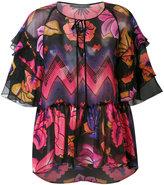 Alberta Ferretti printed blouse - women - Silk - 40
