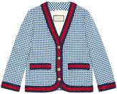 Gucci Wool jacket with Web