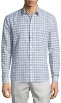 Theory Zack Check Long-Sleeve Sport Shirt, Multi