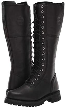 Harley-Davidson Walfield (Black) Women's Boots