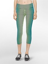 Calvin Klein Performance Jumble Cropped Leggings