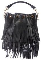 Saint Laurent Small Fringed Emmanuelle Bucket Bag