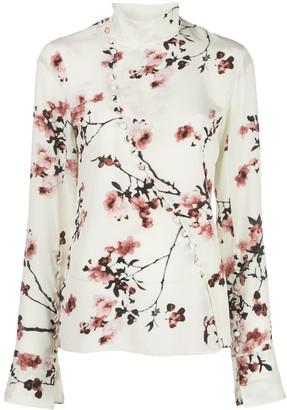 Altuzarra Marjorie silk blouse
