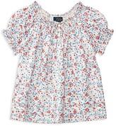 Ralph Lauren Girls' Floral Top - Little Kid