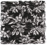 Saint Laurent Hawaiian print scarf