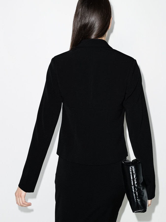 Thumbnail for your product : Supriya Lele Ruched Detail Tie Fastening Jacket