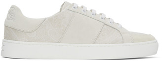 Etro Off-White Paisley Sneakers