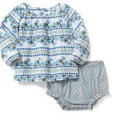 Old Navy 2-Piece Printed Top & Bloomer Set for Baby