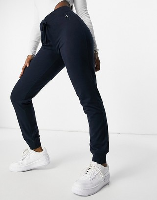 Champion rib cuff pants in navy