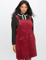 ELOQUII Plus Size Studio Overall A Line Dress
