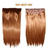 "Wrap Around Synthetic Ponytail Clip in Hair Extensions One Piece Magic Paste Pony Tail Long Curly Wavy Soft Silky for Women Fashion and Beauty 18'' 20"" 22"" Inch"