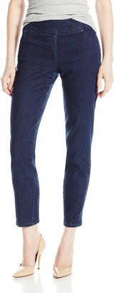 Ruby Rd. Women's Petite Pull-On Extra Stretch Denim Jean