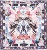 Ted Baker Amiah Mirrored Minerals Silk Square Scarf
