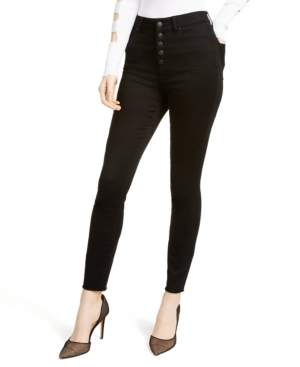 Fly London Rewash Juniors' High-Rise Button Skinny Jeans