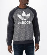 adidas Men's Originals Essentials Allover Print Crew Sweatshirt