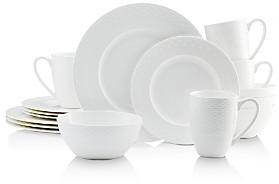 Mikasa Ortley White 16-Piece Dinnerware Set