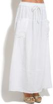 White Milies Linen Skirt