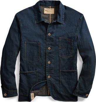 Ralph Lauren Selvedge Denim Engineer Jacket