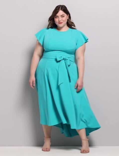 Thumbnail for your product : Lane Bryant Lena High-Low Dress